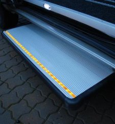 Access Vehicles Australia specialise in Handicap Vans, Disability Buses, Wheelchair Access Vehicle Conversions | AXSTEC ELECTRIC AUTOMATIC SLIDING STEP - ../../dc/prodimages/Handi20AXS20trin_1.jpg